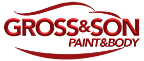 Gross & Son – Paint & Body Shop Sticky Logo